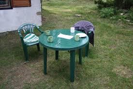 Kerti bútorok műanyagból